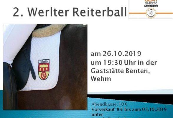2. Werlter Reiterball